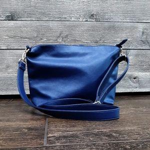 STEVE MADDEN BLUE CROSSBODY BAG